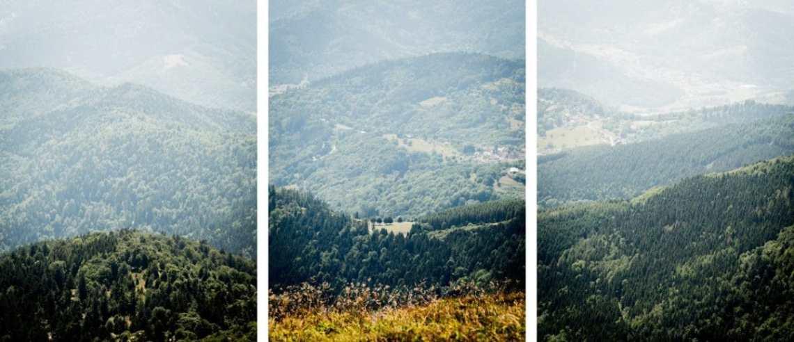 alsace, vosges, route des crêtes, montagne, grand ballon
