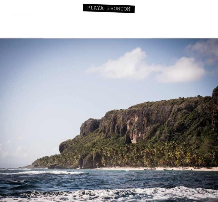 république dominicaine, samana, las terrenas, caraïbes, playa fronton, las galeras