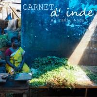 Carnet d'Inde I