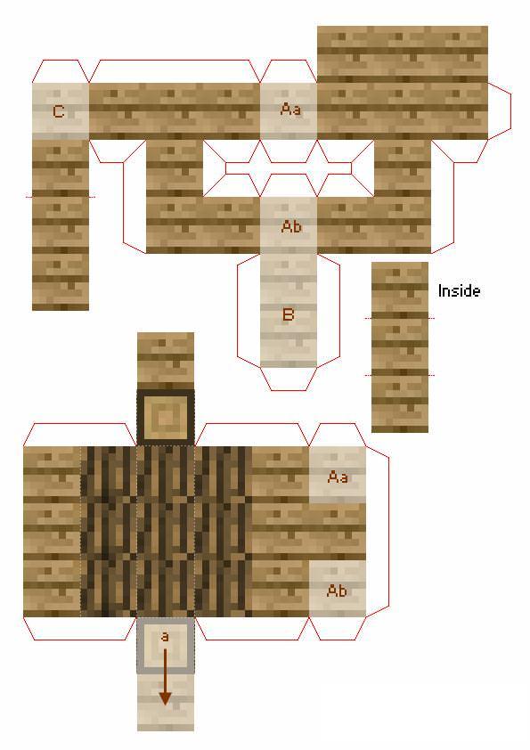 как построить дом в майнкрафте верстак #6