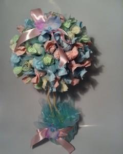 sladkiy_topiariy_17_06173117 Топиарий из конфет. Сладкий топиарий: дерево, яблоко, букет и часы из конфет