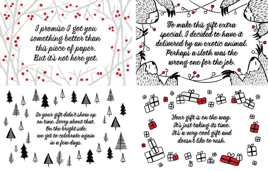 Don't Go Giftless! Give A Redbubble Gift Certificate.
