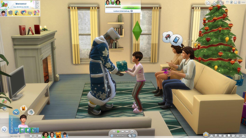 Die Sims 4 Jahreszeiten Test  Ein Addon fr kalte Wintertage