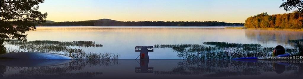 Sunrise, Abrams Pond 2013