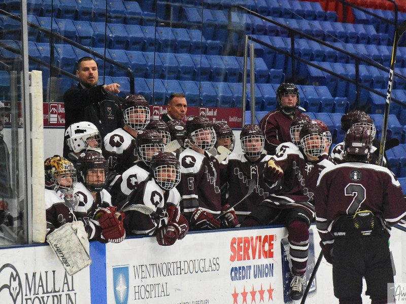 Hockey: Goffstown 3 @ Oyster River 3 (OT)