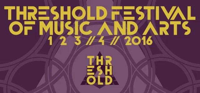 Threshold Festival 2016 banner