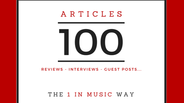 Writing Articles on 1 In Music - Reviews, Interviews, guest posts