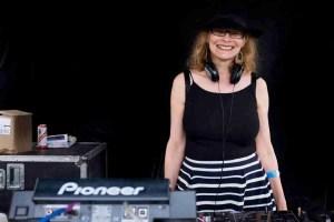 DJ Mayeva at Africa Oye