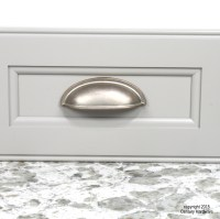 Weathered Nickel Cabinet Cup Pulls | Cabinets Matttroy