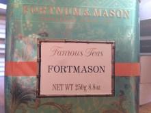 thé à la fleur d'oranger....