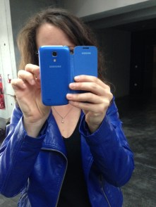 Téléphone Samsung Galaxy mini S4, manucure made in Angel!