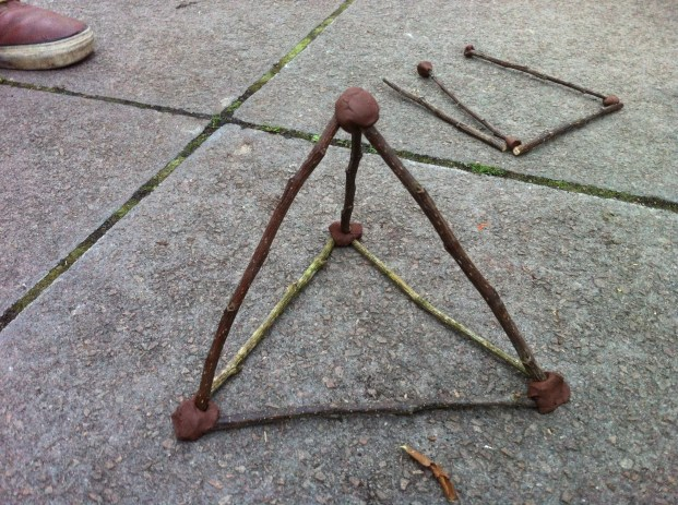 What can you do with 12 sticks of equal lenght