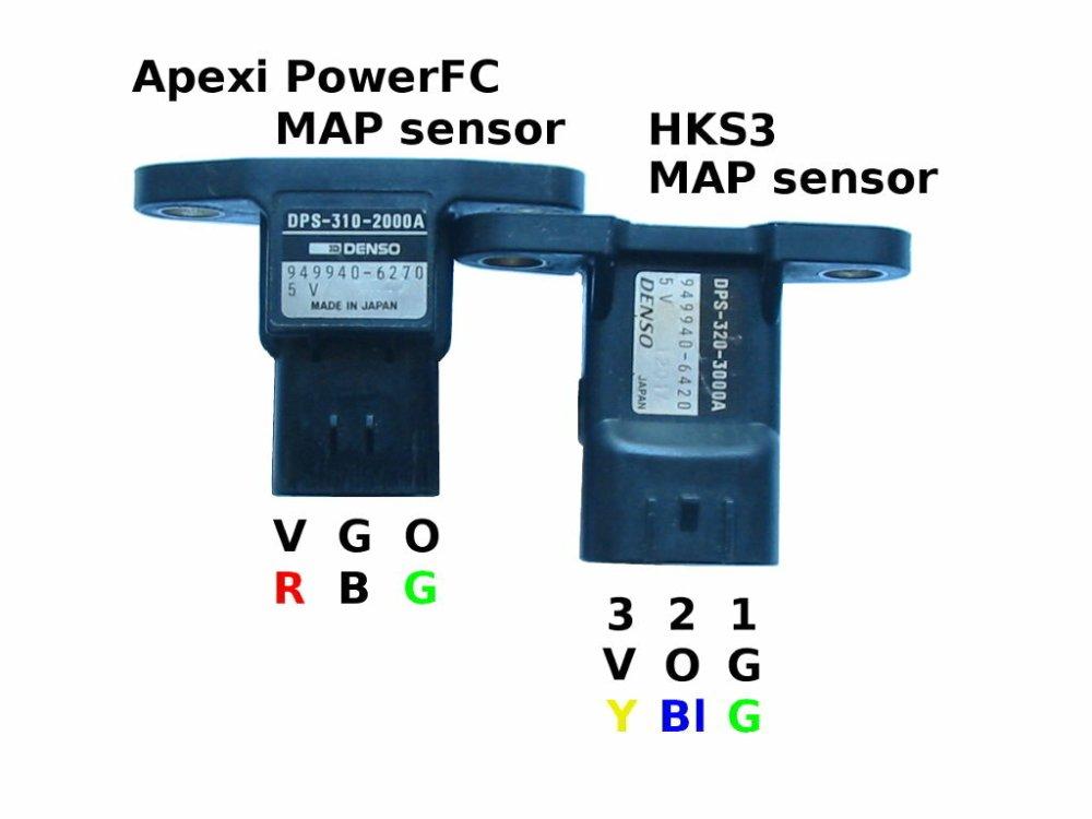 medium resolution of sensors manifold air pressure map comparison