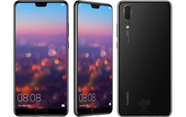 Huawei представила флагманы P20 и P20 Pro