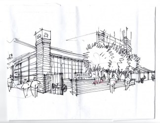 restaurant drawing outside outdoor inside richmond cuisine owners winning award coming february seating assemble considered include chic industrial richmondconfidential
