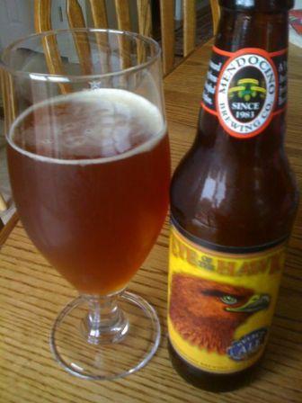 Medicino Brewing Eye of the Hawk Amber Ale