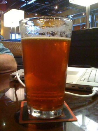 BJ's Brewhouse in McAllen Texas Jeremiah Red Irish strong ale