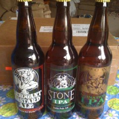 Stone Beers via Mail from a Friend