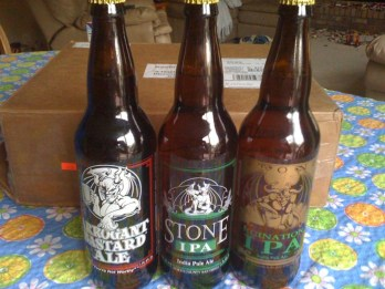 Stone Brewing from San Diego