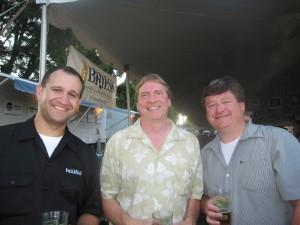 Me Karl Ockert of Bridgeport Brewing and Jamie Emmerson of Full Sail