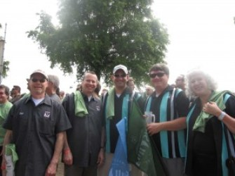 Widmer Brothers, me, Jamie Emmerson, Irene Firmat