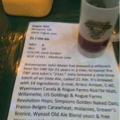 138. Rogue Ales – 21 Olde Ale Draft