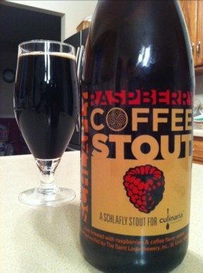 St. Louis Brewery Schlafly Raspberry Coffee Stout