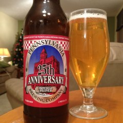 503. Pennsylvania Brewing Co. – 25th Anniversary Imperial Pilsner