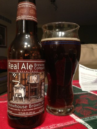 508. Real Ale Brewing Co - Brewhouse Brown Ale