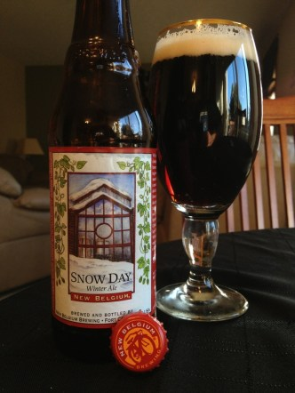 524. New Belgium Brewing - Snow Day Winter Ale