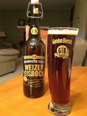 525. Gordon Biersch Brewing Co - Braumeister Selekt Weizen Eisbock