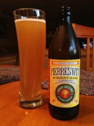 583. Urban Chestnut Brewing Co. - Pierre's Wit Wheat Ale