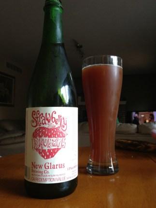 593. New Glarus Brewing - Strawberry Rhubarb