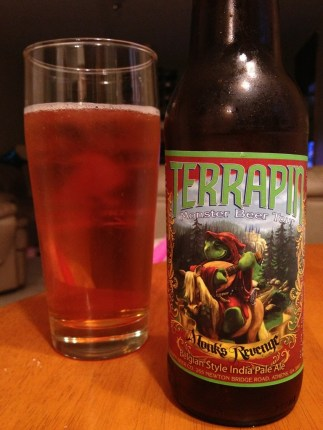 594. Terrapin Beer Co - Monk's Revenge Belgian Style India Pale Ale 2012