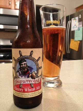 595. Shipwrecked - Door County Cherry Wheat Ale