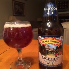 668. Sierra Nevada – 2012 Bigfoot Barleywine Ale