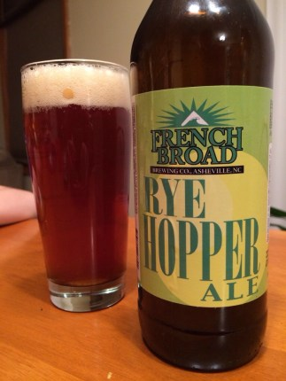 669. French Broad Brewing - Rye Hopper Ale