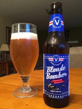 695. Veteran Beer Co. - Blonde Bomber American Blonde Ale