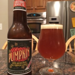741. Lakefront Brewery – Pumpkin Lager