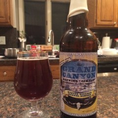 756. The Grand Canyon Brewing Co. – Winter Bourbon Barrel Bomber