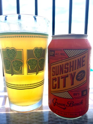 871. Green Bench Brewing - Sunshine City IPA