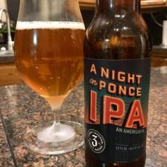 882. Three Taverns Brewery – A Night on Ponce IPA