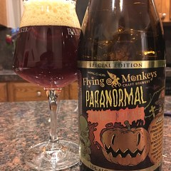 884. Flying Monkeys – Paranormal Imperial Pumpkin Ale