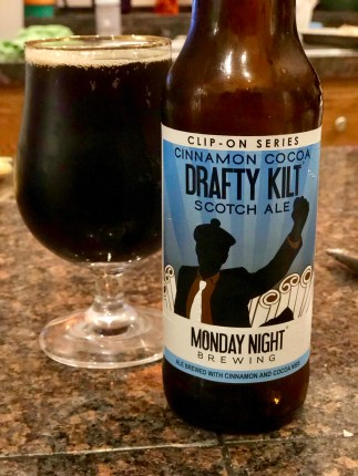 918. Monday Night Brewing - Cinnamon Cocoa Drafty Kilt Scotch Ale