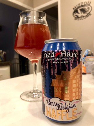928. Red Hare Brewing - Berry Belgian Waffle