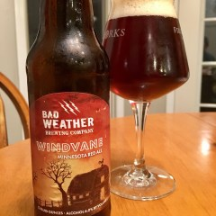 826. Bad Weather Brewing – Windvane Minnesota Red Ale