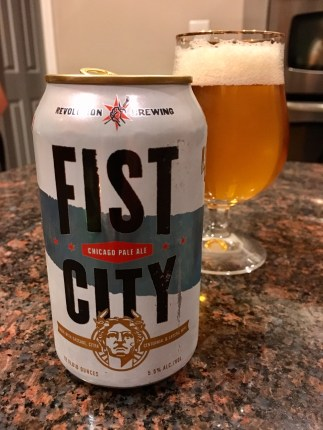 852. Revolution Brewing - Fist City Chicago Pale Ale