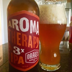 855. Drake's Brewing- Aroma Therapy 3X IPA