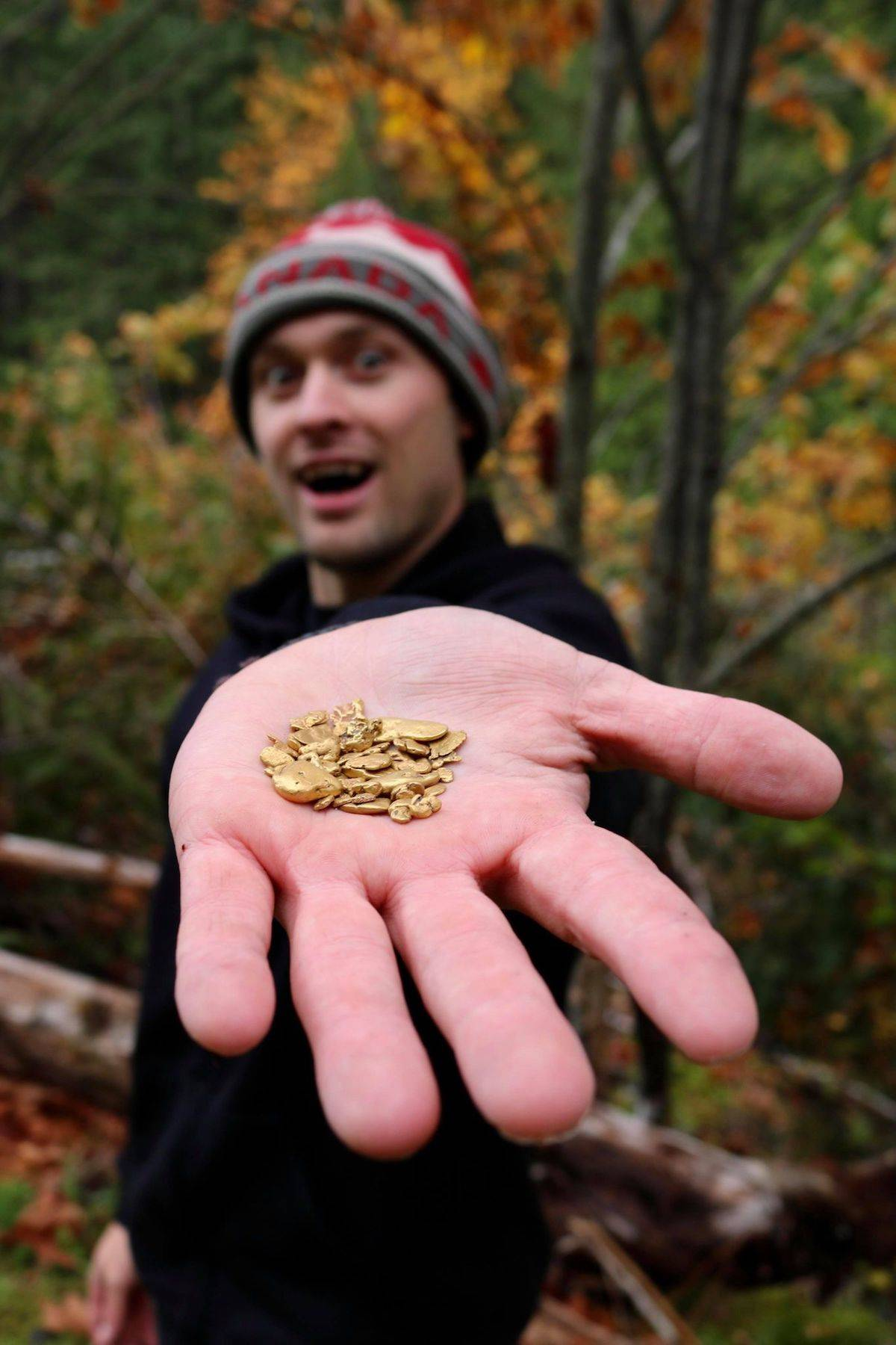 Man Finds Gold Mine On Property : finds, property, Hitting, Jackpot:, Sooke, Finds, Niche, Audience, Gold-panning, YouTube, Vancouver, Island, Daily