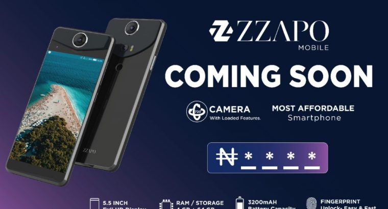 Zzapo Mobile: The most affordable smart phone in Nigeria